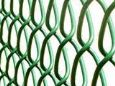 PVC CHAIN LINK FENCING 25MT x 0.9MT x 50MM